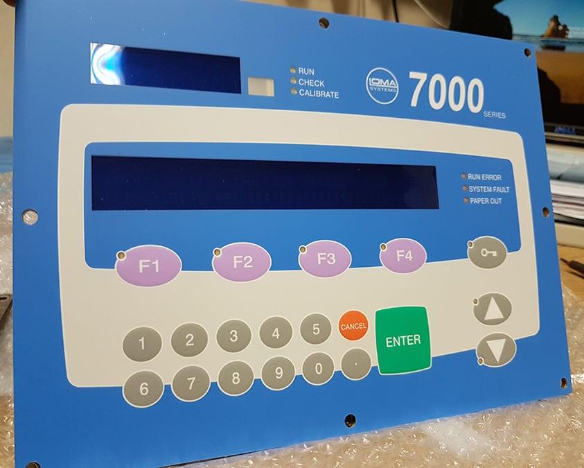 Loma touchscreen keyboard