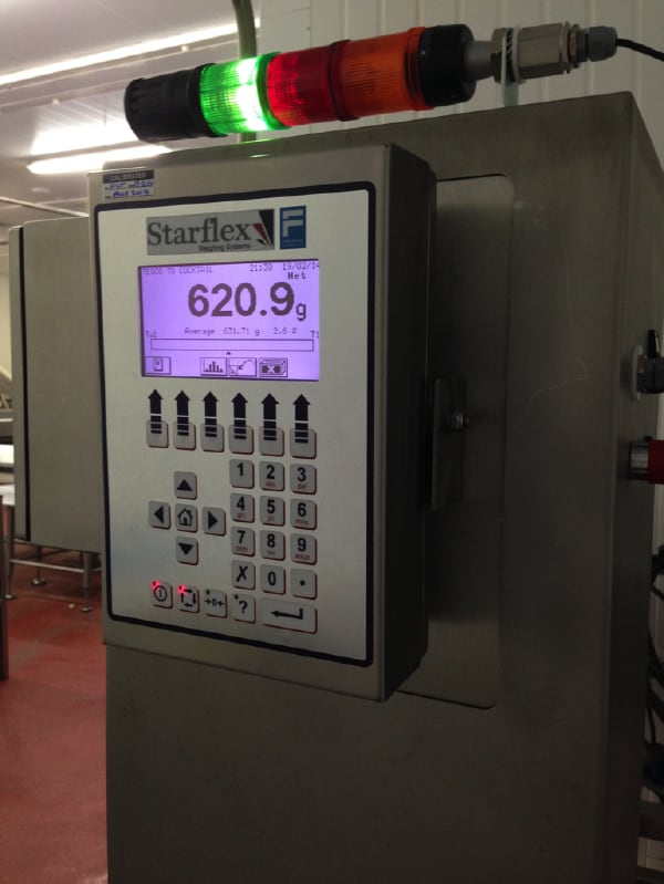 Upgrade checkweighers